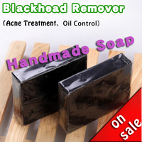 Bamboo Charcoal Handmade Soap Blackhead Remover,REMOVE  BODY ODOR,Tearing Style Deep Cleansing ,Acne Treatment,