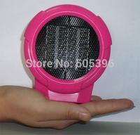 decorative electric heaters home applicance mini fan heater 220v/200 W in orange grey Free Shipping