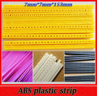 ABS Plastic Strips Gearbox Bracket Toy Axle Rack Multi Rod Building Blocks Model Material