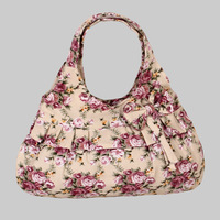Korean ladies bow canvas bag female  cute little bag small handbag cloth