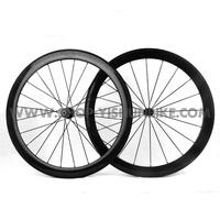 Freeshipping! YISHUNBIKE 50mm tubular Carbon Fiber Wheel,  Ultra light 50mm tubular road wheelset, YS-CC2-50T