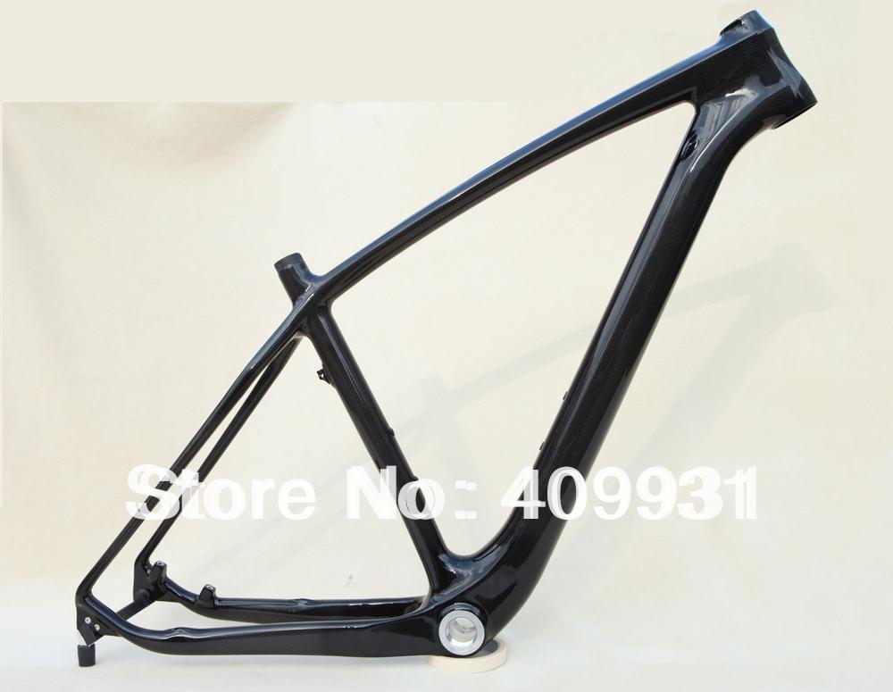 Carbon 29er mtb bike frame size 15.5 3k-glossy BSA AC056(China (Mainland))