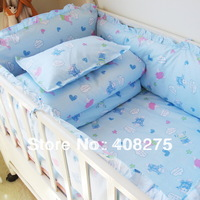 2013 Baby crib bedding sets Baby cot bedclothes(bumpers mattress bedding bag pillowcase sheets) 100% cotton many combinations