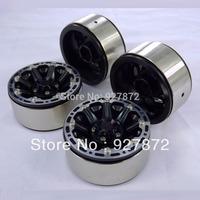 New 8 spoke heavy duty beadlock alloy 1.9 wheels rim (4pcs) for 1:10 rc crawlers