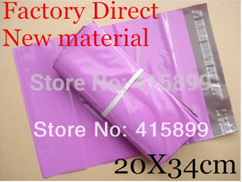 200PCS NEW [PINK] COLOR POLY MAILERS ENVELOPE SHIPPING BAGS 8 x 13.5 Inch 200x340mm