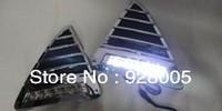 led car lights New Silver Chrome DRL LED Daytime Running Lights for 2012 New Ford Focus