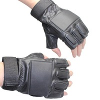 Racing Anti-collision Glove Tactical Hunting Moto Bicycle Cycling Hiking Camping anti-skidding PU Leather Gloves