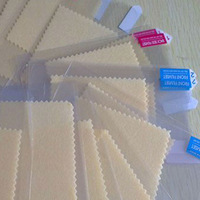 500pcs/lot Front Matte Screen Protective Film For iphone 4/5, /S5830/S6102/S4 I9500, MOTOROLA,LG L3 L5. Free Shipping By HK Post