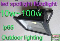 10w Outdoor led landscape lighting 100-240v grey or black housing garden uplighting,tree lighting,warm white,ip65