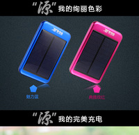 5000MAh solar portable charger power bank for ipad iphone smart phone PDA , Solar Charger for Samsung Galaxy S3 i9300