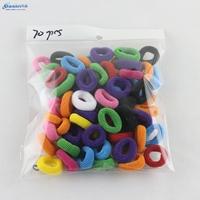 Free shipping 70pcs/lot Cool elastic for hair Princess hair accessories Cheap hair bands for women Fashion hair ornament Basin