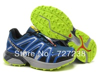 2013 New Men Salomon  XT HORNET Outdoor tenis shoes running Wholeslae Walking athletic shoes shoxshoes Free shipping 40-45