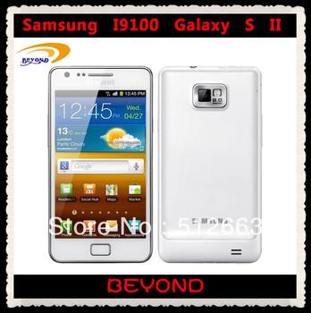 i9100 Samsung galaxy S2 Dual-core 4.3'' WIFI GPS 8MP 16GB Android original unlocked mobile phone