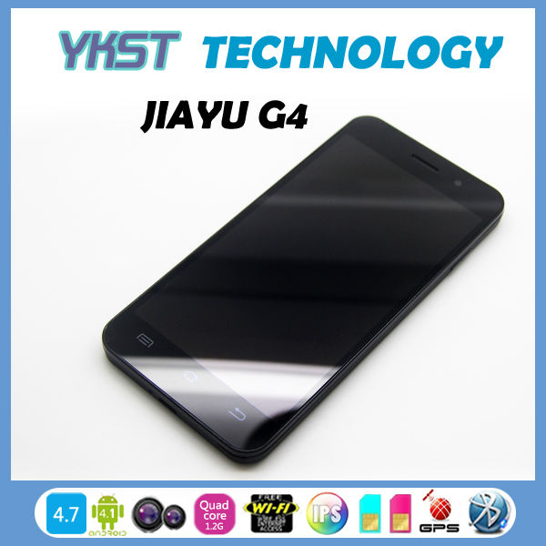 "Jiayu G4 MTK6589 Smartphone 4.7"" IPS Screen Quad Core Dual Camera 3MP/13MP Build-in GPS Android 4.2(China (Mainland))"