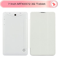 Cheap 7 inch 3G Phone Call Tablet PC MTK6572 Dual Core 1.2GHz android 4.2 phone call bluetooth Wifi Dual Camera Android Tablet