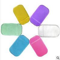 Colorful Powerful Silica Gel Magic Sticky Pad Anti-Slip Non Slip Mat for Phone PDA MP3 MP4 /Auto Car Accessories 10pcs/lot