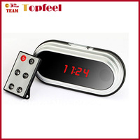 High Quality 8GB Full HD 1080P Mirro Digital Clock DVR Alarm Hidden Camera HDMI Mini camcorder 12 hours recording