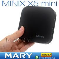 NEW Dual Core Cortex A9 MINIX NEO X5mini Android TV Box 1GB/8GB Popular MINIX NEO X5 mini Android Media Player HDMI with Remote