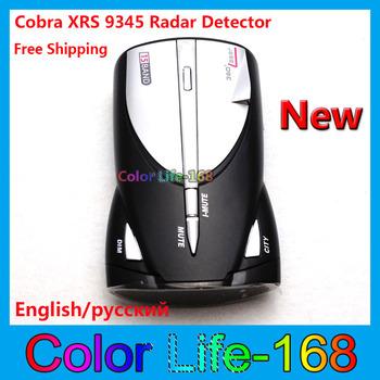Hot sale!-Made in china Cobra Radar Detector XRS 9345 14 band Car Radar detector Free Shipping