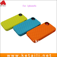 2013 New Arrival Colorful Silicone Mobile Phone Case for iPhone 4