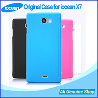 New arrival! Original Case For Iocean X7 32GB MTK6589T Phone, iocean x7 case back cover + screen protector, Freeshipping