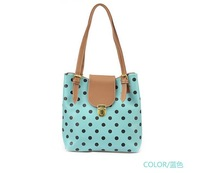 2013 New style  women handbag fashion  candy color shoulder bag  genuine Leather Messenger Bags