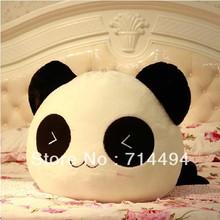 28cm Cushion Lumbar Pillow Panda Plush Toy pillow Cute Panda Comfortable lint Toy Free Shipping(China (Mainland))