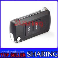 Folding Remote Key Shell Case For Mitsubishi Lancer Outlander Galant 2BT DKT0210