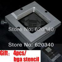 Free Shipping HT-90 90*90 BGA Universal Reball Ball Rework Station Reballing Station Send 4/PCS BGA Universal Stencil Kit