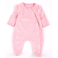 Free shipping 0-3 months baby clothes Coverall Romper climbing clothes Romper bag feet Newborn Romper