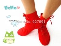 Free shopping female high jazz shoes canvas dance shoes modern dancing shoes children jazz dance