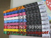Golf grips for golf driver and iron grips  new model golf clubs golf rubbers 100/lot 9 colors DHL free ship