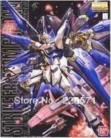 Self Assembled Kit, GUNDAM cool model japan Bandai  1/100 STRIKE FREEDOM FULL BURST MODE, boys toys, child birthday gifts