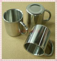 450 ml Stainless Steel Coffee Mug Tumbler Camping Mug Double-deck Bilayer Cup