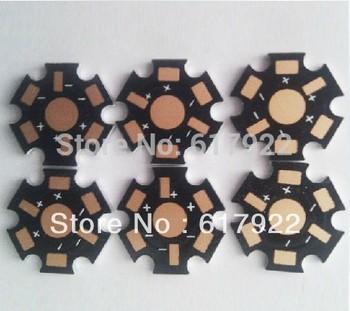 200pcs/lot 1W 3W 5W High Power LED Heat Sink Aluminum Base Plate