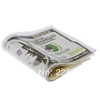 Free Shipping 4Pieces cale-pote Money Door Stopper Dollar / Japanese Yen / Euro Bill Money Doorstop