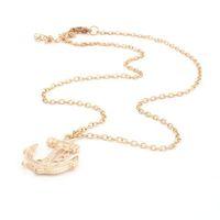 6pcs New Navy Sailor Golden Anchor Women Bubble Bib Party Statement Necklace 61891
