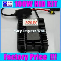 High quality 100W HID Xenon Conversion kits H1 H3 H7 H8 H9 H11 9005 9006 880 4300K 6000K 8000K Plug & Play  free ship