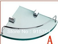 Free shipping! Bathroom Shelves, corner glass shelf