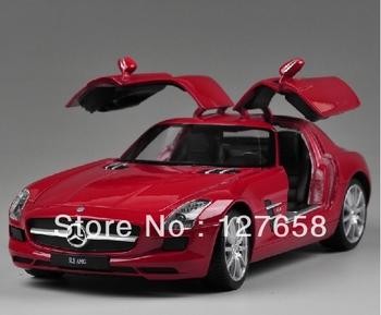 Alloy car model/Willie 1:24 gull-wing door Mercedes SLS luxury sports car