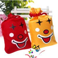 Creative toys tricky funny ha ha laugh bag music Bag 10pcs/lot color Random