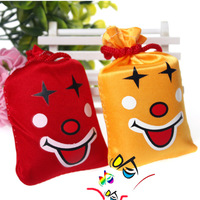 Creative toys tricky funny ha ha laugh bag music Bag 10pcs/lot color Random