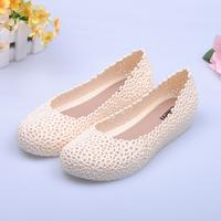 Free Shipping 2014 Summer Hot Selling Rubber Flats Clogs Super Soft Non-Slip Women Garden Shoes 221