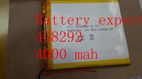 3.7V4000mAH Li-ion( Polymer lithiumion) battery for 7 inch tablet pc ICOO D70pro II,Q88,onda,cube,vido,Ampe,Sanei 4.5*82*92mm