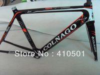 Original NEW  Black Colnago M10 carbon frames road bicycle bike Frame+fork+headset free shipping