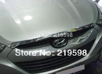 2010-2013 Hyundai IX35 Hood trim Chrome Bonnet Protector hood strip 1 pc/set