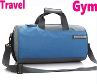 Fashion drum Gym Bags Shoulder bag travelling sports barrel basketball bag blacktravel laptop bluecylinder portable bag red