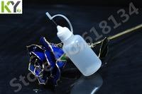 Wholesale Free shipping--30ml PE needle cap bottle Plastic Dropper Bottles NEW LDPE for 1700pcs By FedEx