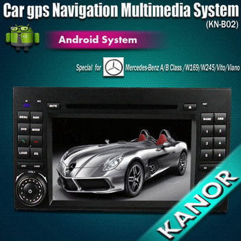 Free Shipping Android 4.0,1GHZ Car dvd radio gps navigation multimedia for Mercedes Benz A Class W169 B class W245 Viano Vito
