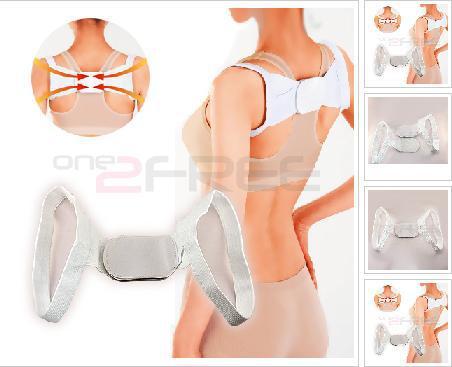 Free Shipping-Posture Brace Shoulder Back Support Band Correct Belt Body Wrap Rectify Posture humpback rectify band beauty belt(China (Mainland))